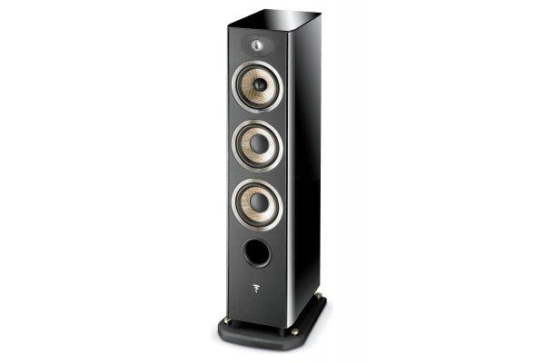 Large image of Focal Aria 926 Black High Gloss 3-Way Floorstanding Speaker (Each) - JMLARIA926BPL