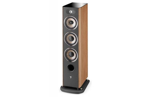 Large image of Focal Aria 926 Prime Walnut 3-Way Floorstanding Speaker (Each) - JMLARIA926PRWA