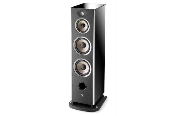 Large image of Focal Aria 948 Black High Gloss 3-Way Floorstanding Speaker (Each) - JMLARIA948BPL