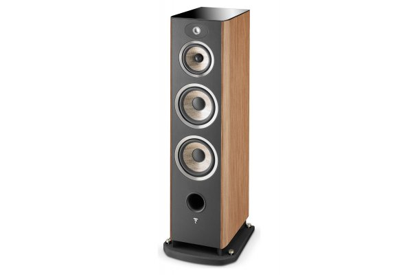 Large image of Focal Aria 948 Prime Walnut 3-Way Floorstanding Speaker (Each) - JMLARIA948PRWA