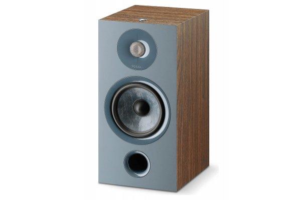Large image of Focal Chora 806 Dark Wood 2-Way Bookshelf Speaker (Pair) - FCHORA806DW