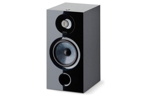 Large image of Focal Chora 806 Black 2-Way Bookshelf Speaker (Pair) - FCHORA806BK