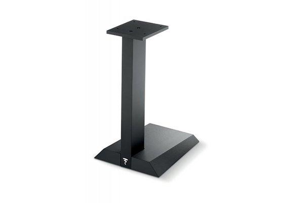 Large image of Focal Chora 806 Brushed Black Bookshelf Speaker Stand (Pair) - FCHORA806ST
