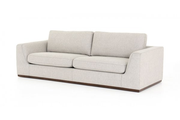 Large image of Four Hands Centrale Collection Colt Aldred Silver Sofa - UCEN-00702-789