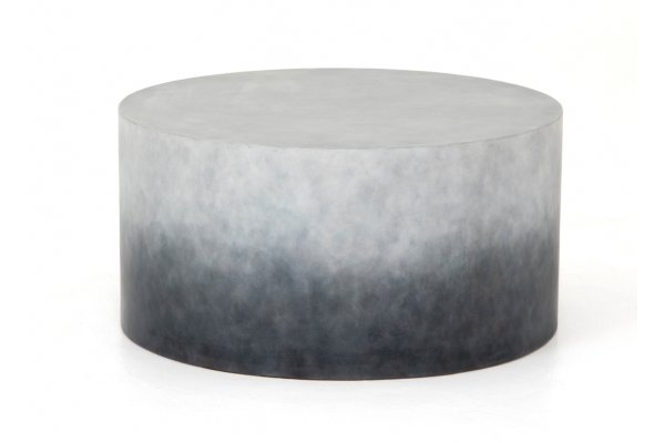Large image of Four Hands Thayer Collection Sheridan Indigo Ombre Coffee Table - VTHY-037