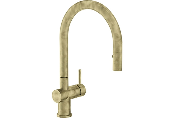 Large image of Franke Active Neo Satin Brass Faucet - FF3990