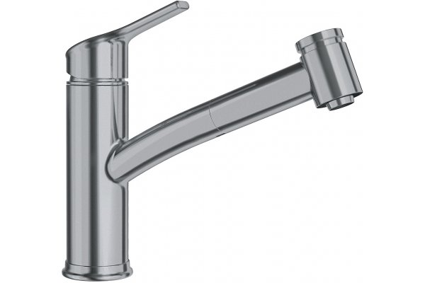 Large image of Franke Ambient Satin Nickel Pull-Out Spray Faucet - FFPS4380