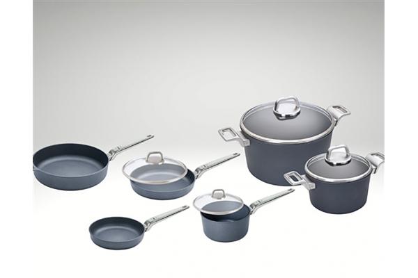 Large image of Frieling Diamond Lite Pro Induction 10 Piece Cookware Set - WSET10DLPI
