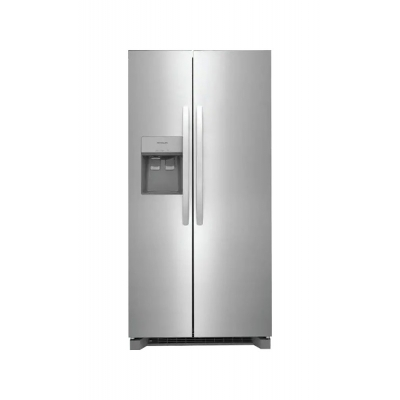 Frigidaire 22.3 Cu. Ft. Stainless Steel Side-By-Side Refrigerator