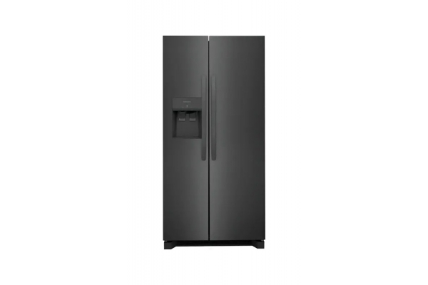 Large image of Frigidaire 22.3 Cu. Ft. Black Stainless Steel Side-By-Side Refrigerator - FRSS2323AD