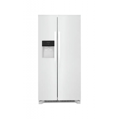 Frigidaire 22.3 Cu. Ft. White Side-By-Side Refrigerator