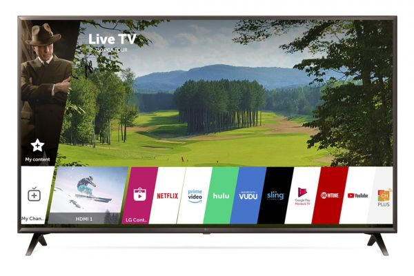 "LG 55"" Black UHD 4K HDR Smart LED AI With ThinQ - 55UK6300PUE"