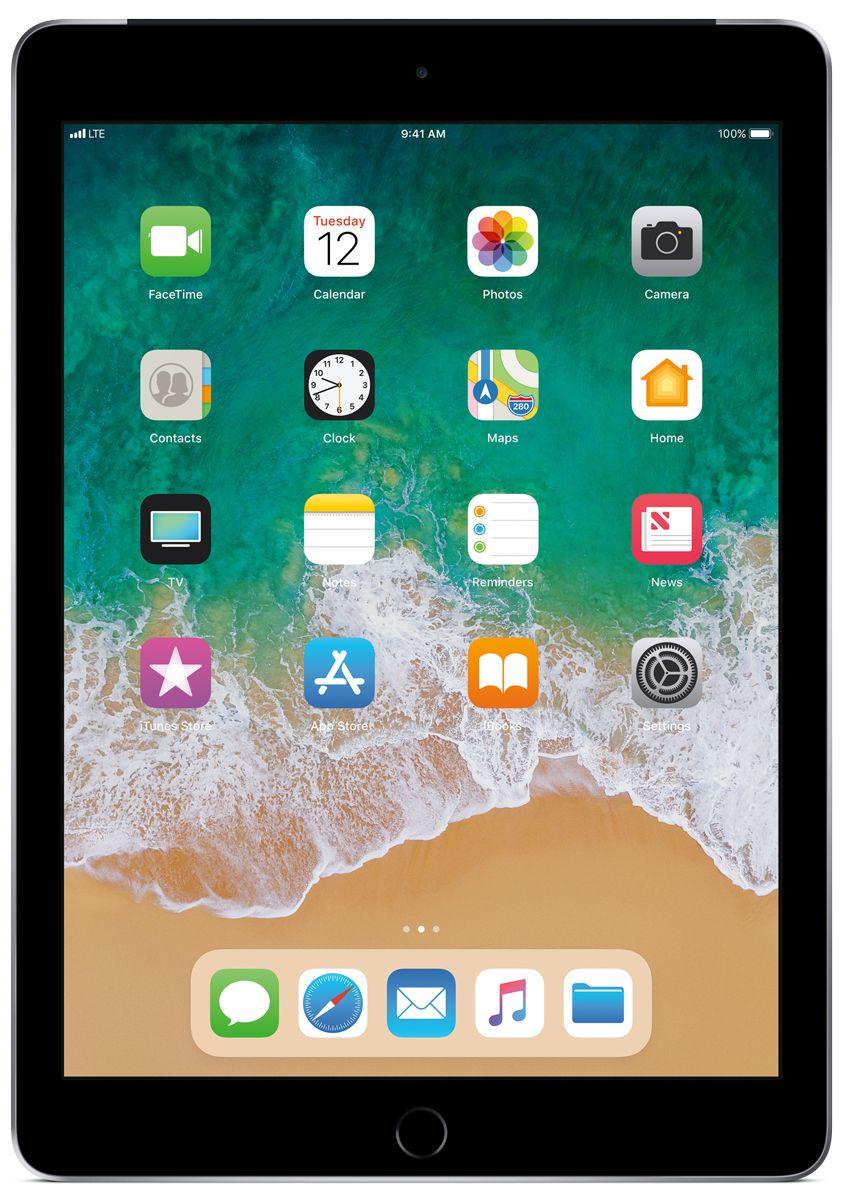 bc4c8ba9576 Apple iPad 9.7-Inch 128GB Wi-Fi + Cellular Space Gray - MR7C2LL/A