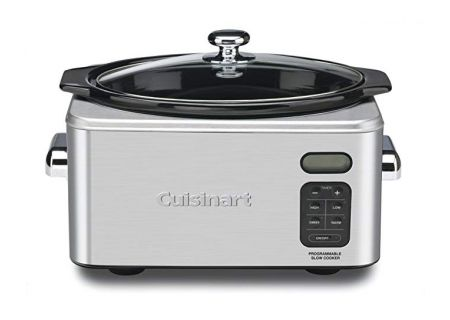 Cuisinart 6.5 Quart Programmable Stainless Steel Slow Cooker - PSC-650