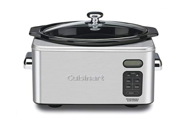 Cuisinart 6.5 Quart Programmable Stainless Steel Slow Cooker - PSC-650