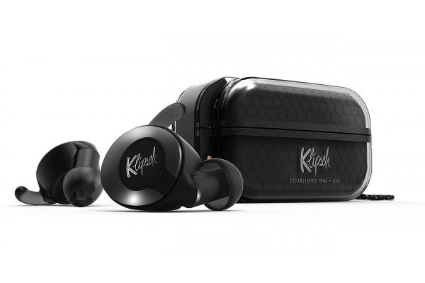 Large image of Klipsch T5 II Black True Wireless Sport In-Ear Headphones - 1069027