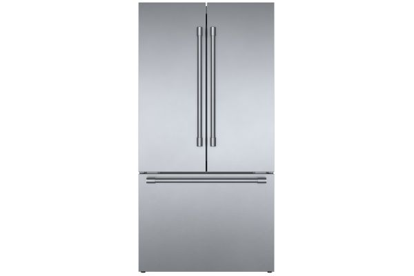 "Bosch 800 Series 36"" Stainless Steel Counter-Depth Refrigerator - B36CT81SNS"