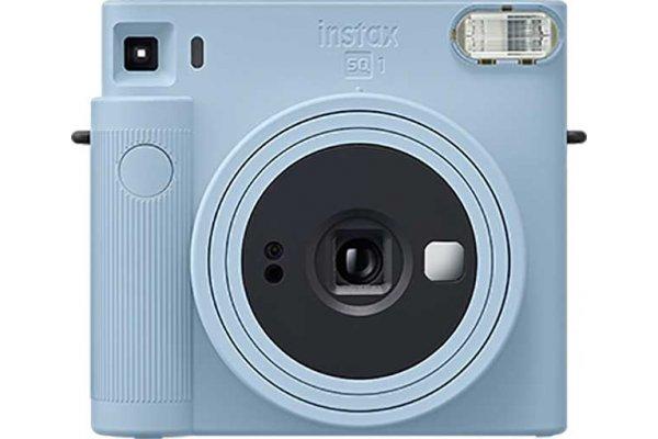 Large image of Fujifilm Instax Square 1 Glacier Blue Instant Film Camera - 16670508  & PRO1351