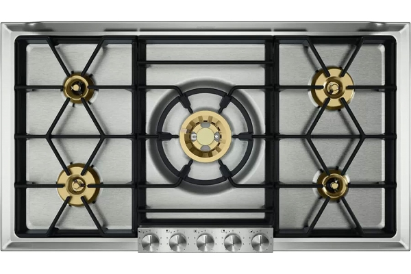 """Large image of Gaggenau 36"""" 200 Series Stainless Steel Natural Gas Cooktop - VG295250CA"""