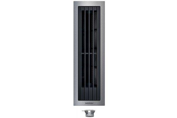 Large image of Gaggenau Vario 400 Series Stainless Steel Backsplash Downdraft Ventilation - VL414712