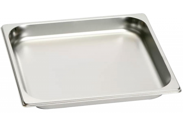 Large image of Gaggenau 3 Qt. Stainless Steel Unperforated Cooking Insert - GN114230