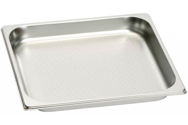 Large image of Gaggenau 3 Qt. Stainless Steel Perforated Cooking Insert - GN124230