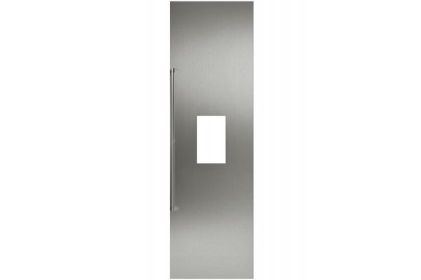 "Large image of Gaggenau 24"" Stainless Steel Dispenser Door Panel With Handle - RA422611"