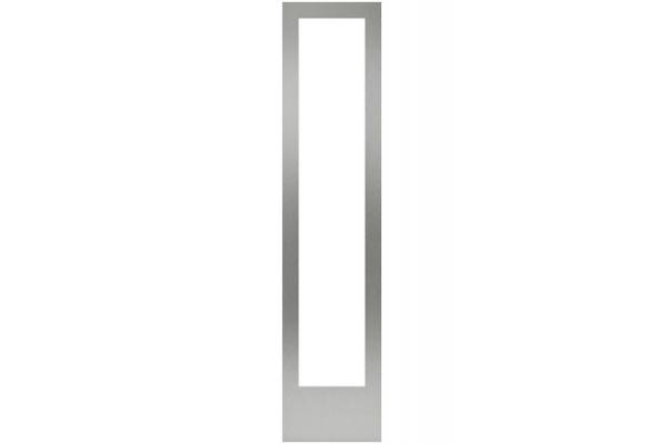 "Large image of Gaggenau 18"" Stainless Steel Handleless Door Panel Frame - RA428116"