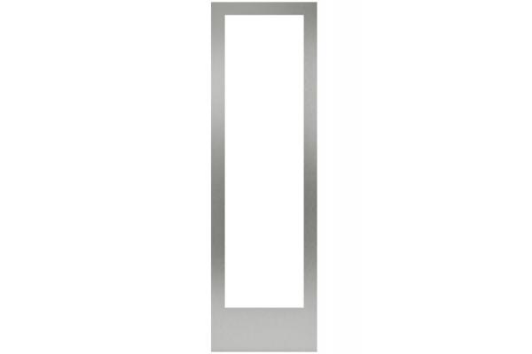 "Large image of Gaggenau 24"" Stainless Steel Handleless Door Panel Frame - RA428616"