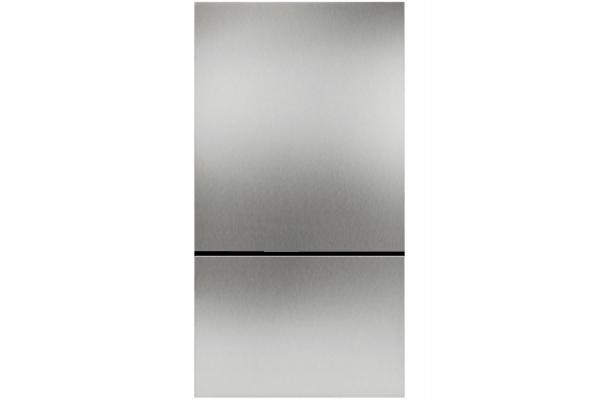 "Large image of Gaggenau 36"" Stainless Steel Fridge-Freezer Combination Door Panels - RA428913"