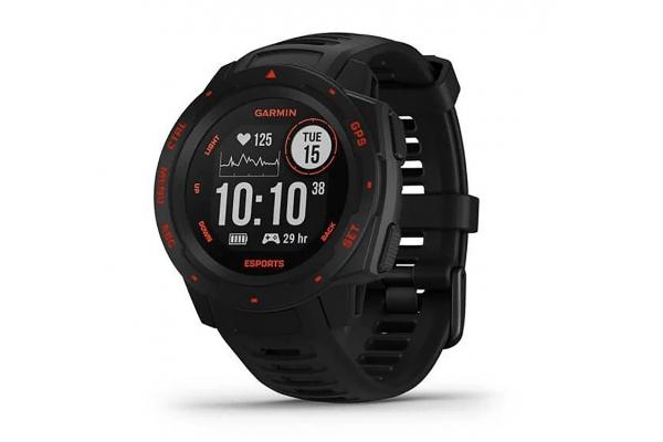 Large image of Garmin Instinct Black Lava Esport Edition GPS Watch - 010-02064-73