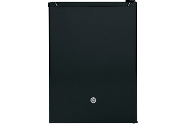 Large image of GE 5.6 Cu. Ft. Black 12 Volt DC Compact Refrigerator - GCV06GGNBB