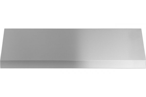 """Large image of GE 30"""" Stainless Steel Designer Wall Hood With Dimmable LED Lighting - UVW8304SPSS"""