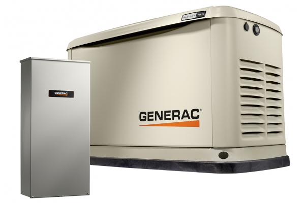 Large image of Generac Guardian 14KW Home Backup Generator with Whole House Switch WiFi-Enabled - 72250
