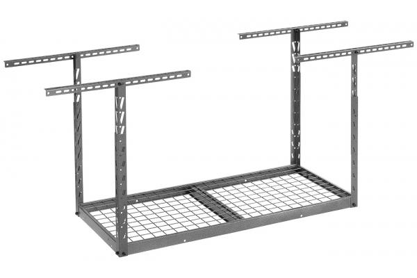 Large image of Gladiator Garageworks Granite 2 x 4 Overhead GearLoft Storage Rack - GALS24M1KG