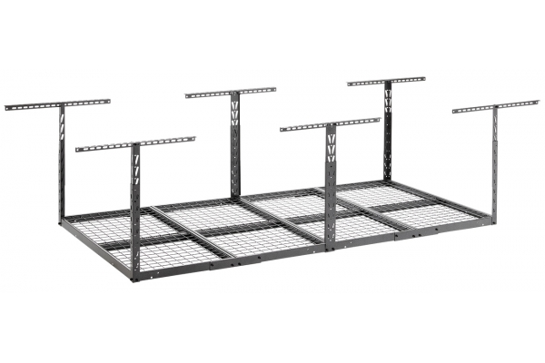 Large image of Gladiator Garageworks Granite 4 x 8 Overhead GearLoft Storage Rack - GALS48M4JG