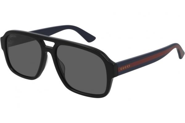 Large image of Gucci Pilot Gray GG0925S Sunglasses, 58mm - GG0925S001