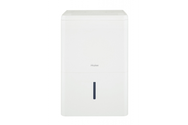 Large image of Haier 50-Pint White Dehumidifier For Home Or Basement - QDHR50LZ