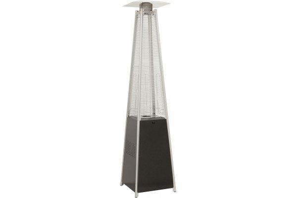 Large image of Hanover Black 7' 42,000 BTU Pyramid Propane Patio Heater - HAN101BLK