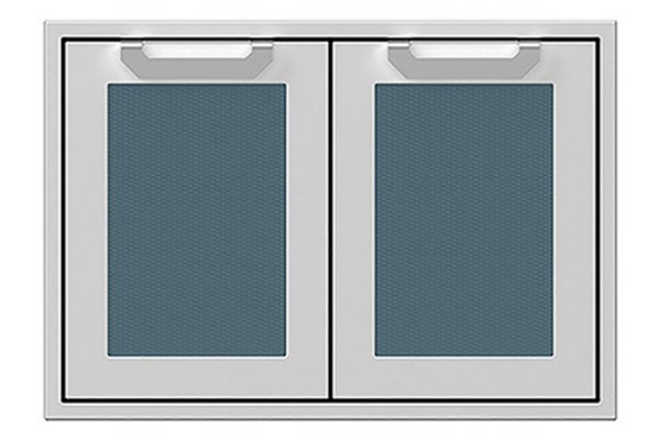 """Large image of Hestan 30"""" Pacific Fog Double Access Doors - AGAD30-GG"""