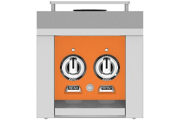 "Large image of Hestan 12"" Citra Liquid Propane Double Side Burner - AGB122-LP-OR"
