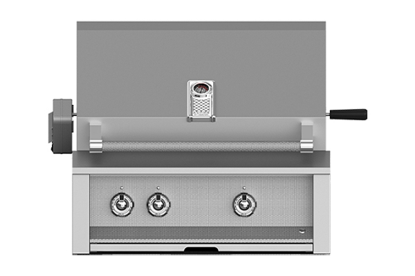 """Large image of Hestan Aspire 30"""" Steeletto Built-In Natural Gas Grill With Rotisserie - EMBR30-NG"""