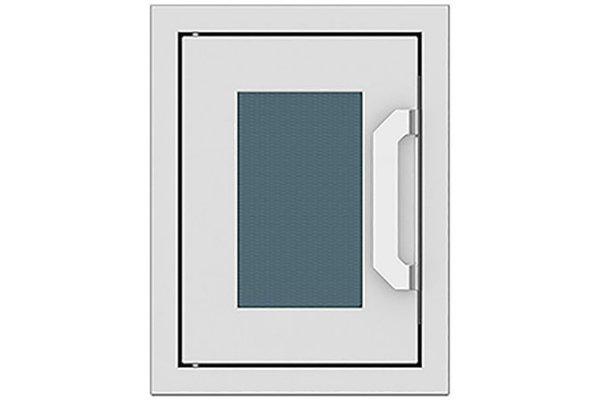 "Large image of Hestan 16"" Pacific Fog Outdoor Paper Towel Dispenser - AGPTD16-GG"