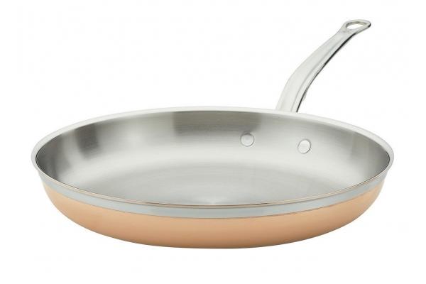 """Large image of Hestan CopperBond 11"""" Induction Copper Skillet - 31590"""