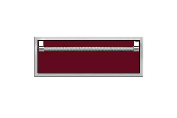 "Large image of Hestan 30"" Tin Roof Outdoor Single Storage Drawer - AGSR30-BG"