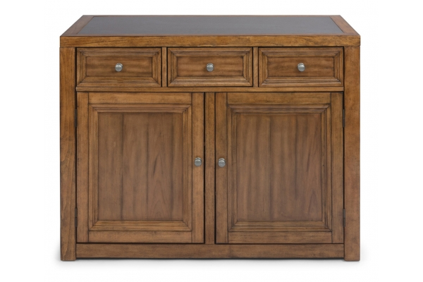Large image of Homestyles Sedona Brown Kitchen Island - 5420-94Q