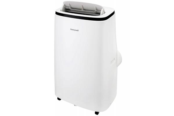 Large image of Honeywell Contempo Series 15,000 BTU ASHRAE (10,800 BTU SACC) White Heat And Cool Portable Air Conditioner, Dehumidifier & Fan - HJ5HESWK0