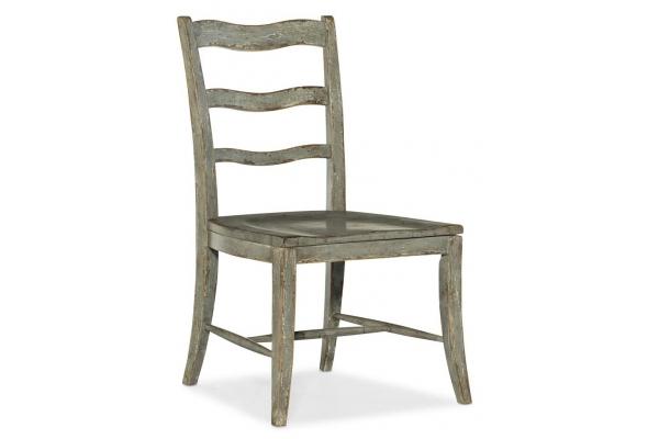 Large image of Hooker Furniture Dining Room Alfresco La Riva Ladder Back Side Chair - 6025-75310-90
