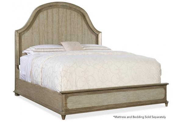 Large image of Hooker Furniture Bedroom Alfresco Lauro King Panel Bed - 6025-90266-83