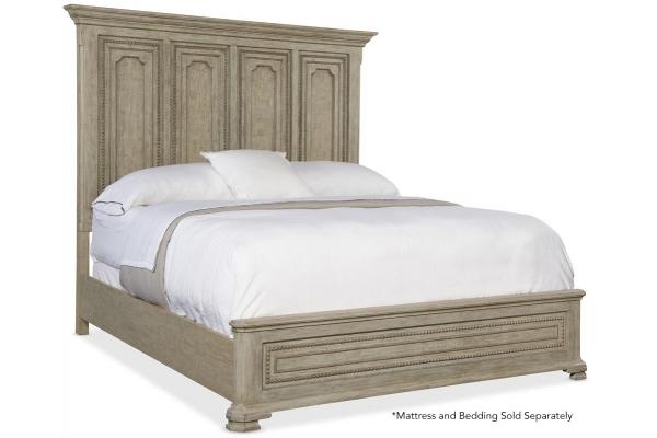 Large image of Hooker Furniture Bedroom Alfresco Leonardo King Mansion Bed - 6025-90366-80